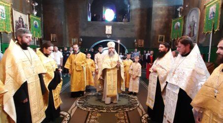 Всенічне бдіння у переддень Різдва святого Пророка Іоанна