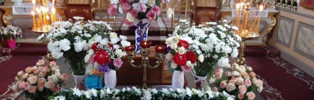 Розклад святкових богослужінь на честь Успіння Пресвятої Богородиці.