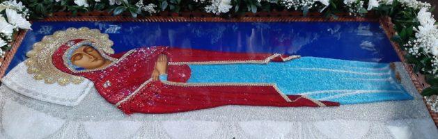 Чин погребіння Божої Матері